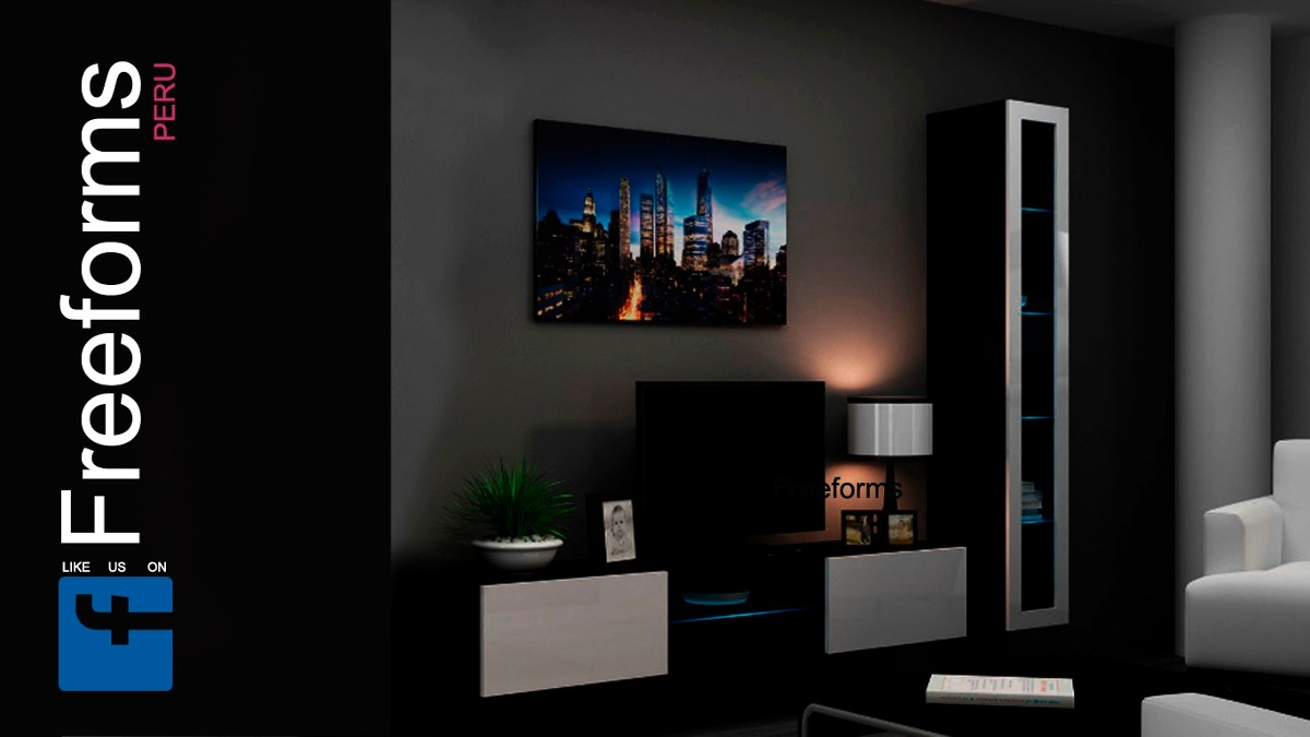Mueble Rack Para Tv Centro De Entretenimiento Gratis Instala S  # Doy Muebles Gratis