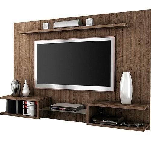 mueble rack para tv melamina flotante m8 en arequipa