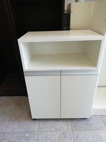 Mueble Rack Porta Microondas Auxiliar De Cocina Chico