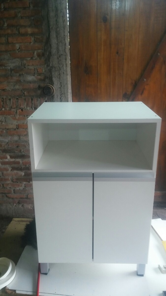 Mueble Rack Porta Microondas Auxiliar De Cocina Chico 1 590 00  # Muebles Libertad Lanus Oeste