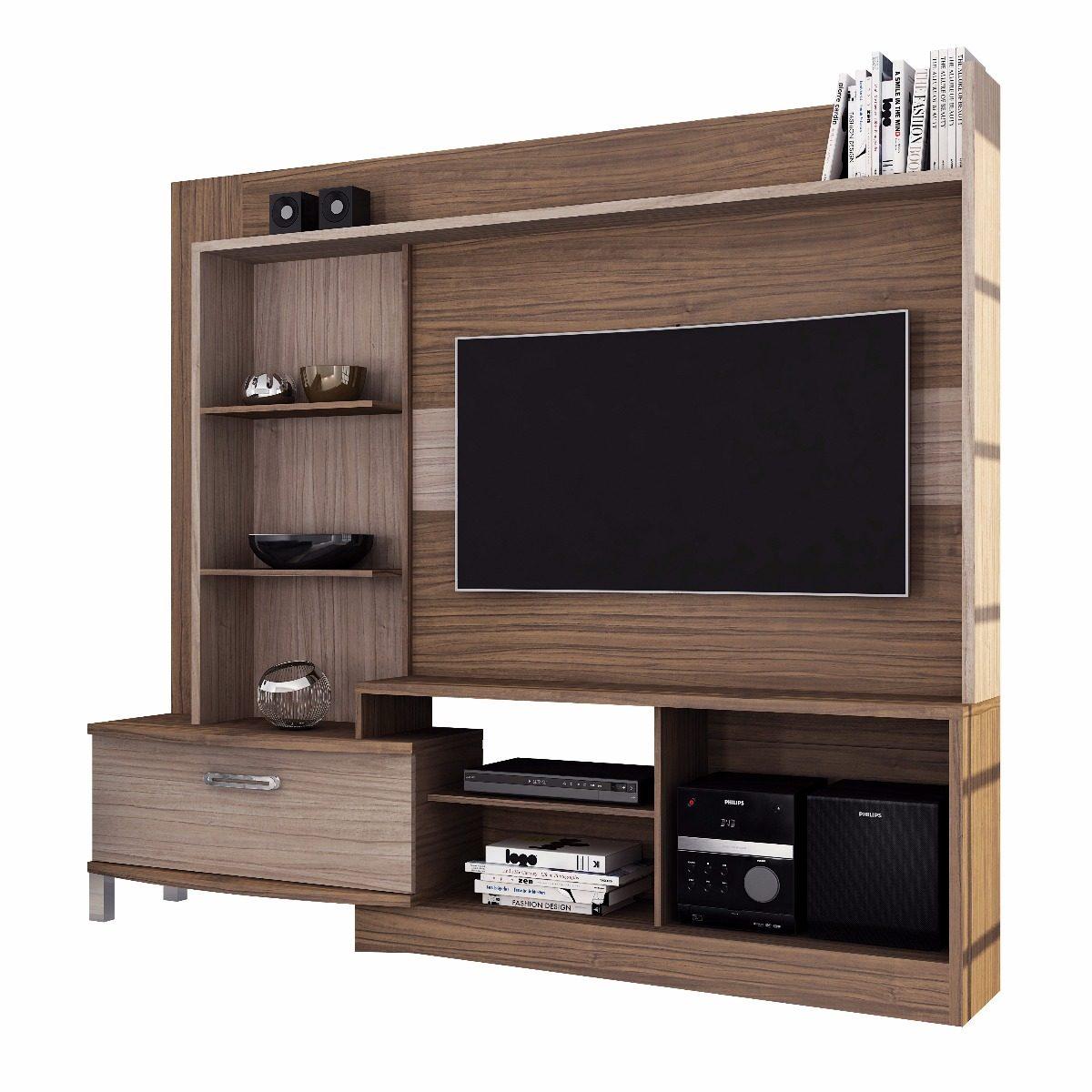 Mueble Rack Tv Home Lavinia Malbec Riviera Mueble 149 990  # Muebles Riviera