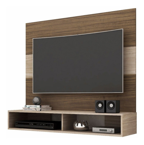 mueble rack tv - suspensa alpes 51''  televisor, muebles