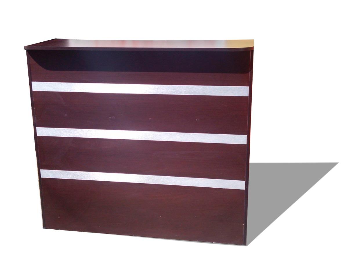 Mueble recepcion modular escritorios mesas oficina for Muebles de oficina usados mexicali