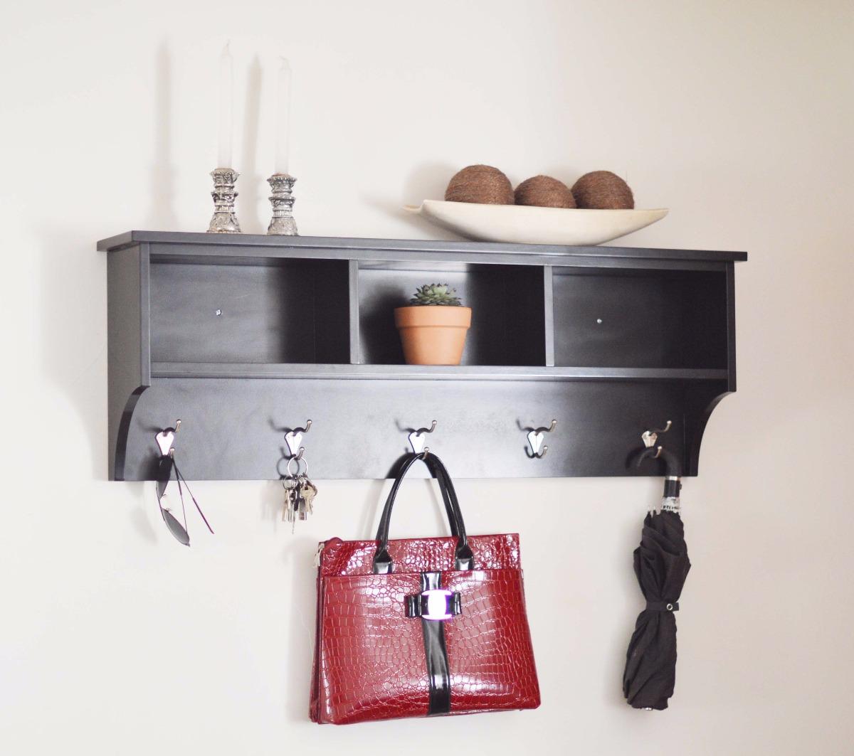 Mueble Repisa Perchero Moderno, Decoracion Sala Comedor - $ 1,899.00 ...