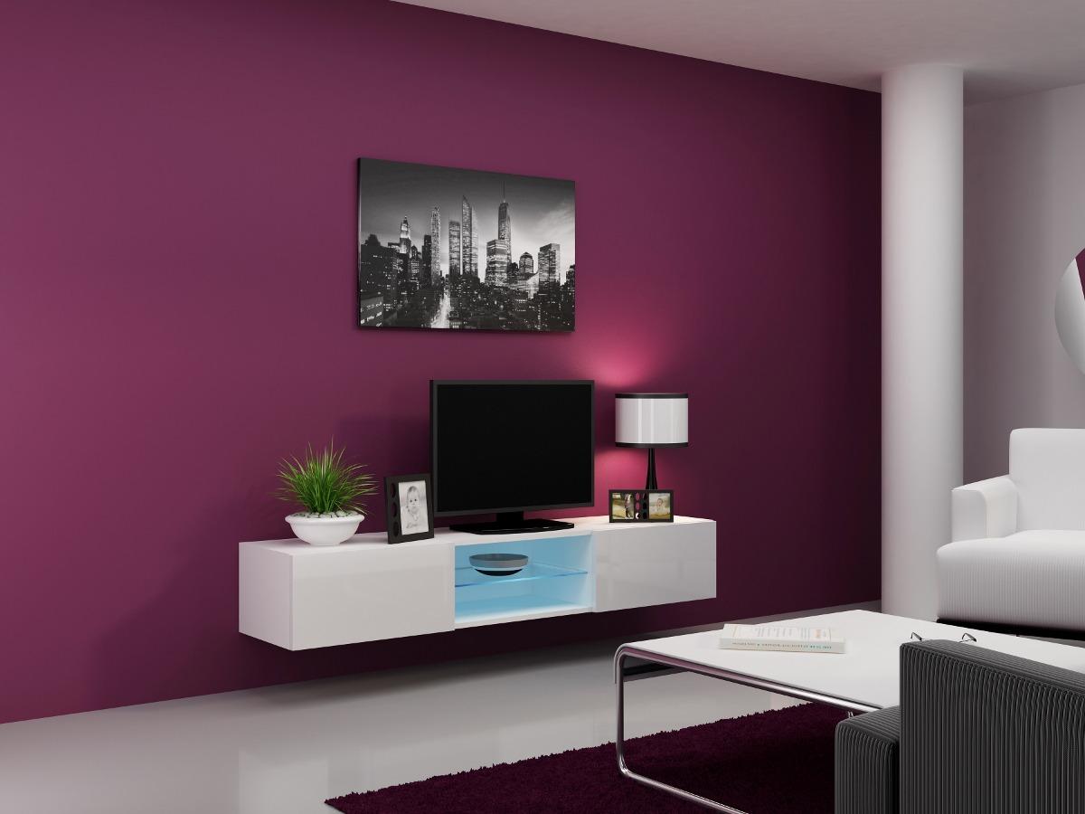 Mueble repisa tv flotante centro entretenimiento mini - Muebles de oficina en vigo ...