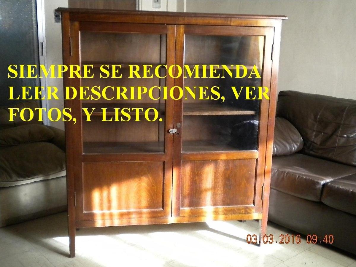 Mueble Repisa Vitrina Madera Calidad Fina Años 70s - $ 110.000 en ...