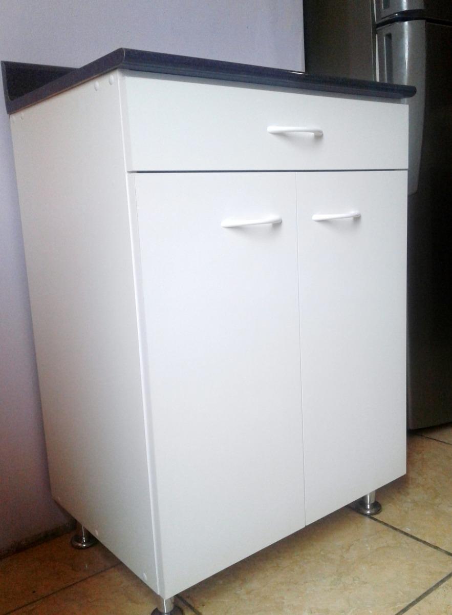 Mueble Repostero Bajo Cocina Con Tablero Postformado Y Cajon - S ...