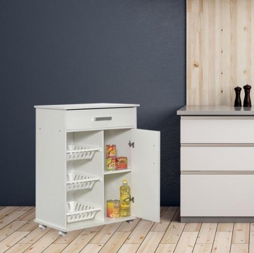 mueble rodante frutero y o microondas + envío sin cargo caba
