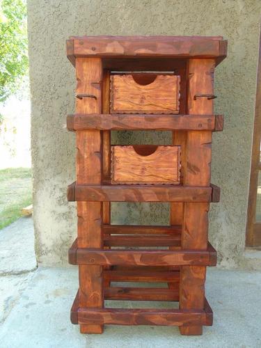 Mueble rustico de cocina aplique de hierro decoformas - Mueble cocina rustico ...