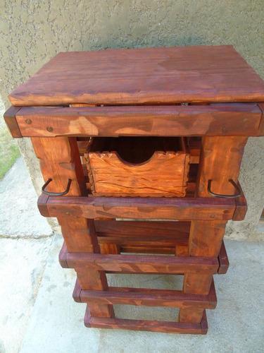 Mueble rustico de cocina aplique de hierro decoformas for Muebles de cocina de hierro