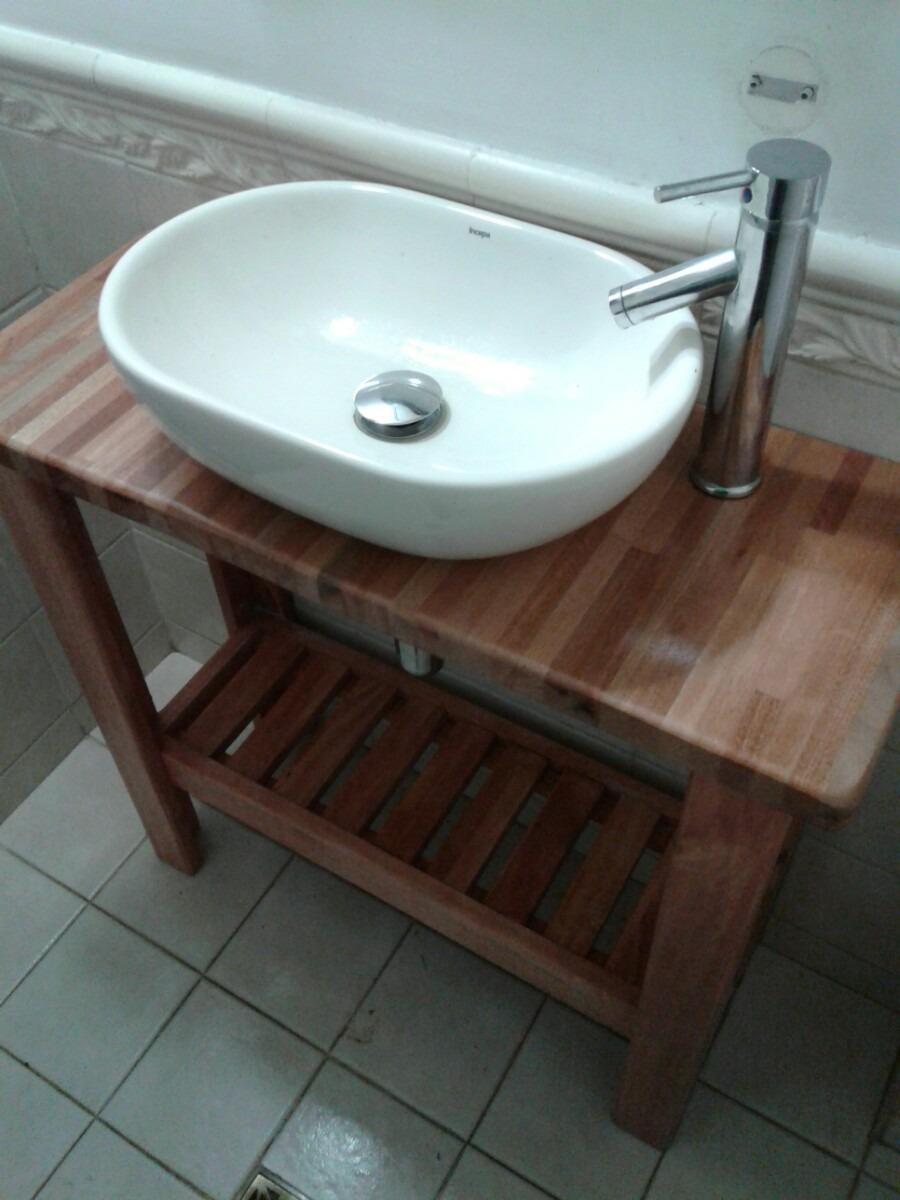 Muebles De Baño Mercado Libre Uruguay : Mueble rustico para bacha de ba?o  en mercado