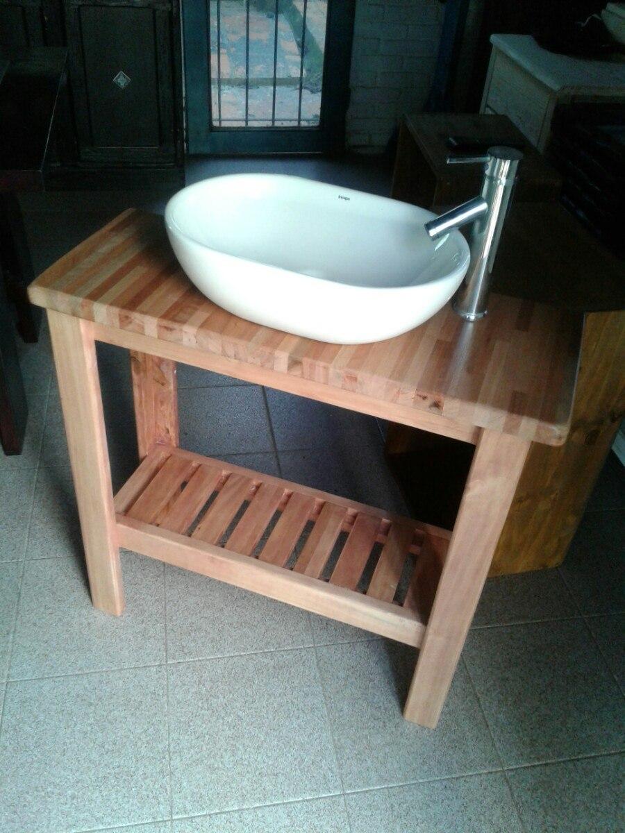 Mueble rustico para bacha de ba o en mercado for App para hacer muebles