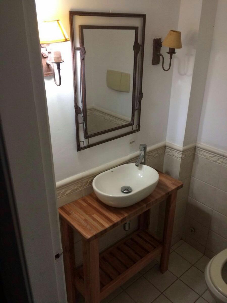 Mueble rustico para bacha de ba o en mercado for Muebles de bano de madera rusticos