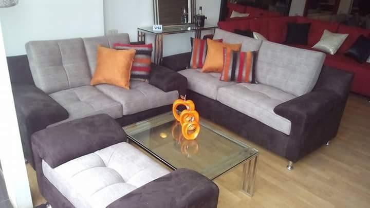 Mueble de sala seccional juego de sala sofas s for Muebles de sala promart