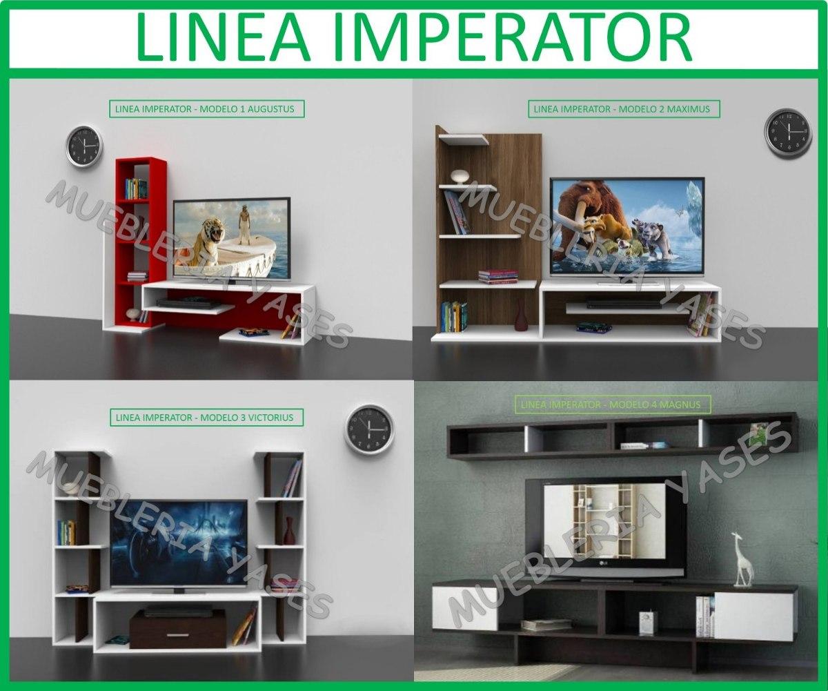 Mueble sala modulares tv moderno entretenimiento latina for Modulares para tv modernos