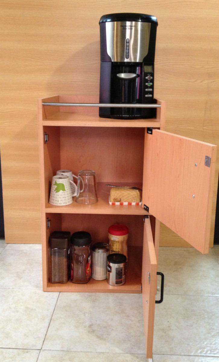 Mueble servicio de caf 1 en mercado libre for Mobiliario para cafes