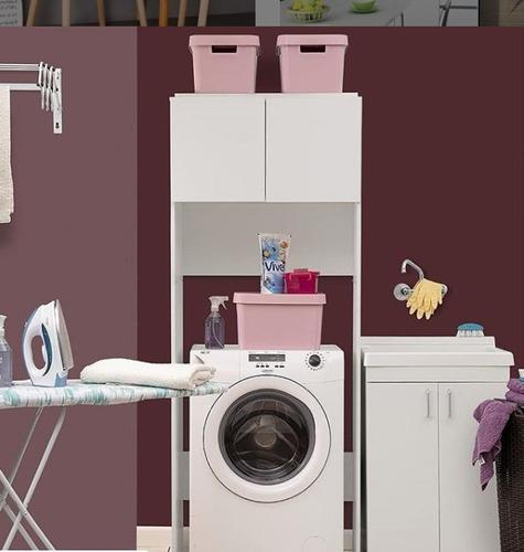 mueble sobre lavarropas 2 puertas + envío sin cargo caba