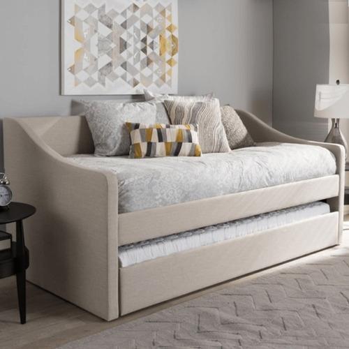 mueble sofa cama diamond muebles litera individual  recamara