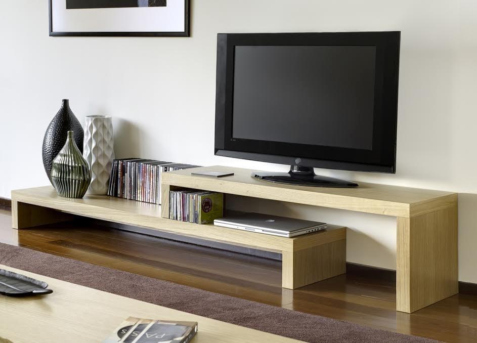 Mueble Television Tv Madera Garantía De 5 Años  Madera Viva  $