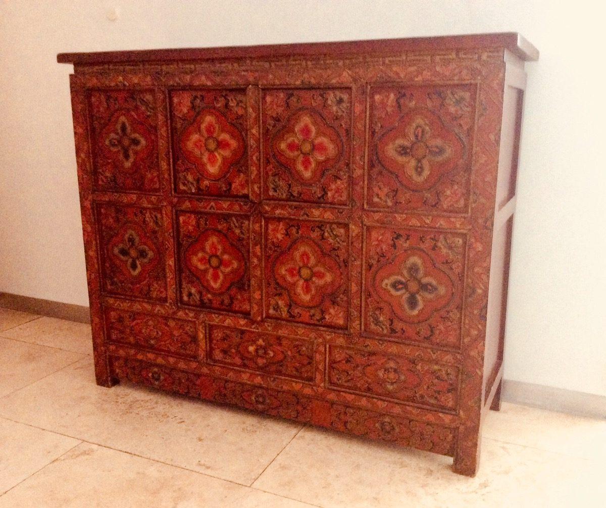 Mueble Tibetano 64 000 00 En Mercado Libre # Muebles Tibetanos