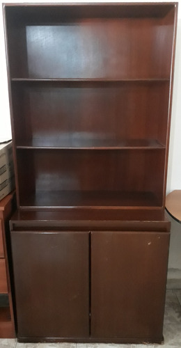 mueble tipo biblioteca de madera