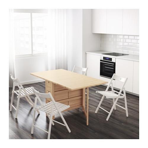 mueble tipo ikea norden mesa expandible 10 en