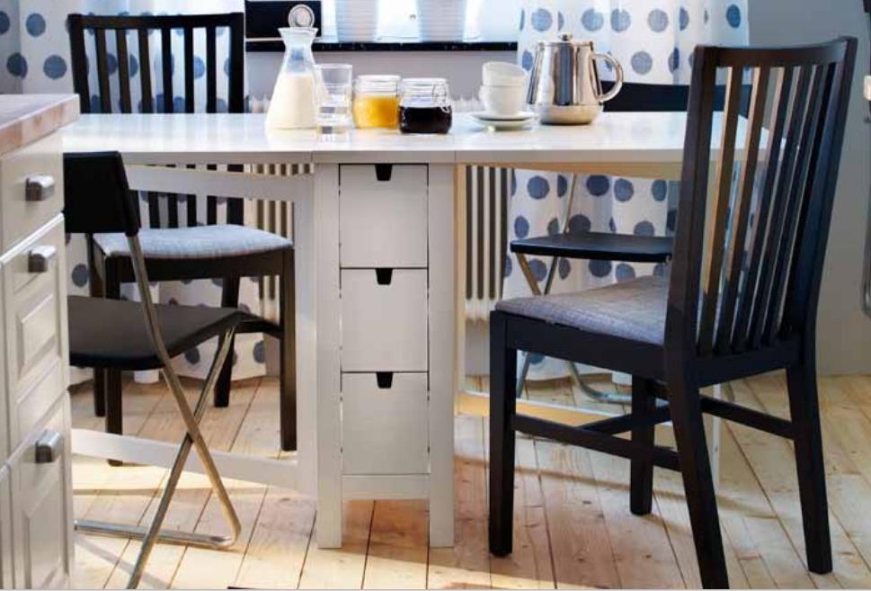 Muebles Tipo Ikea : Mueble tipo ikea norden mesa expandible en