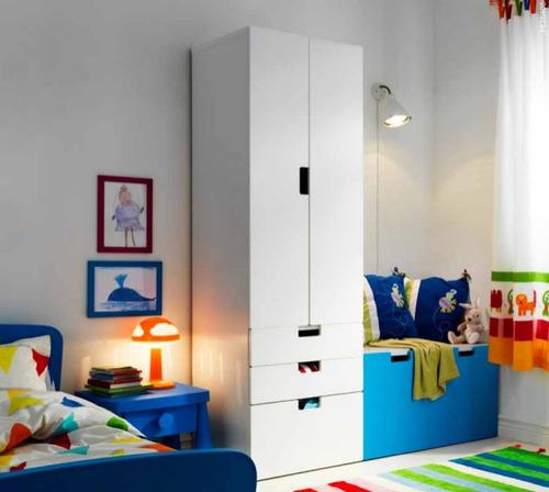 Mueble tipo ikea stuva ropero de 2 puertas y 3 cajones for Ikea compra tus muebles