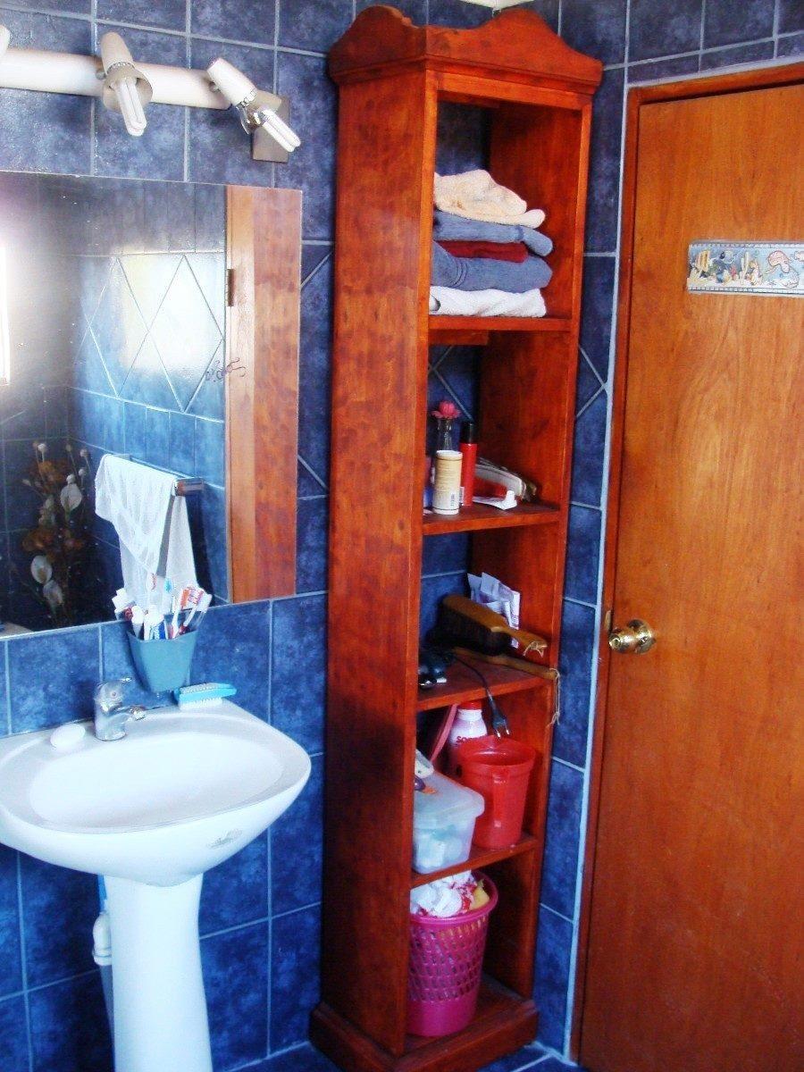 Mueble toallero con estanterias para ba os estilo vintage for Muebles con estilo