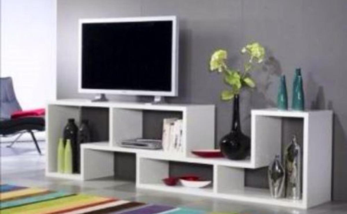 Mueble Tv Centro De Entretenimiento En Melamine  S 180,00 en