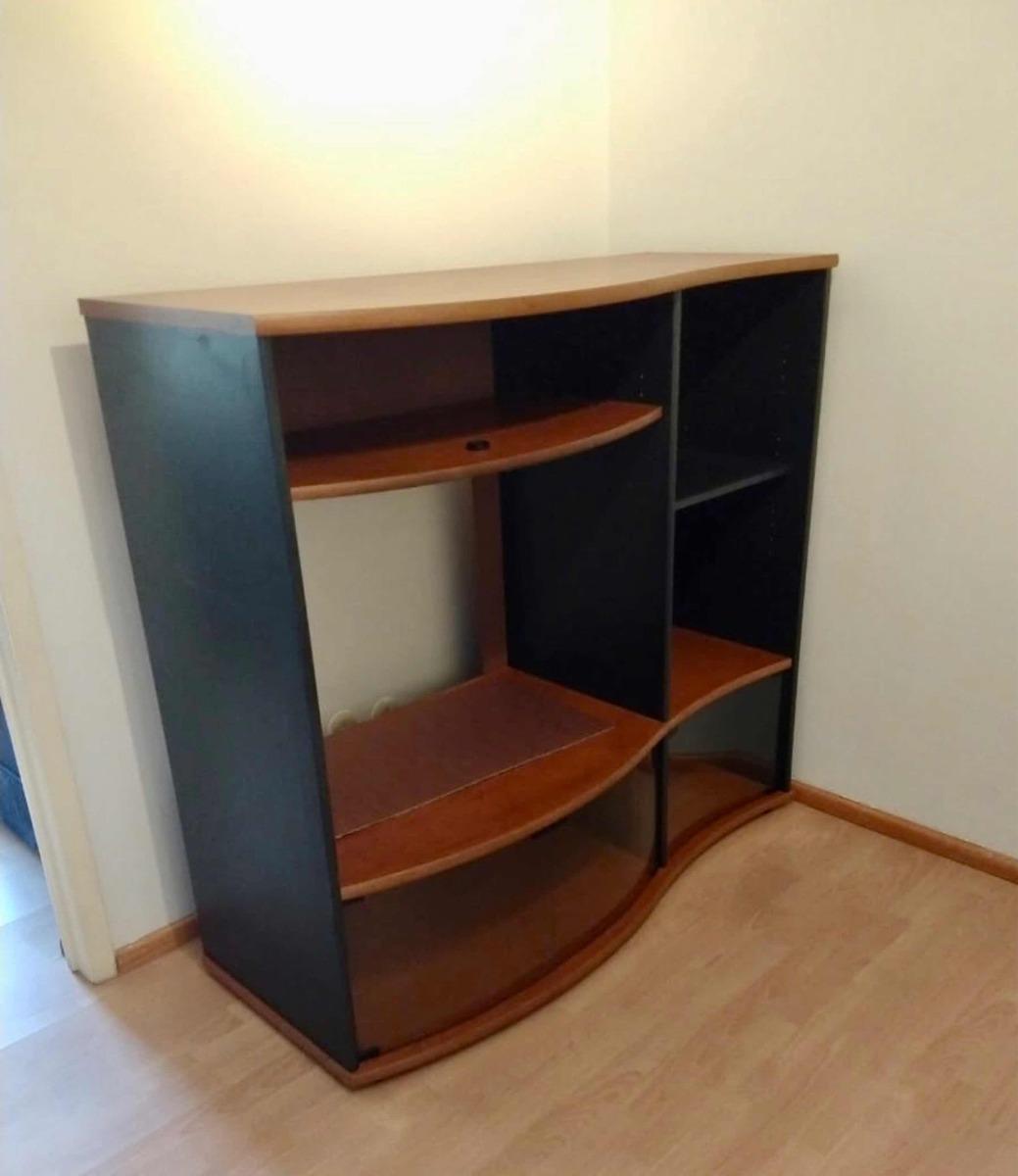 Mueble Tv Librero Centro Entretenimiento Oferta Barato Remat