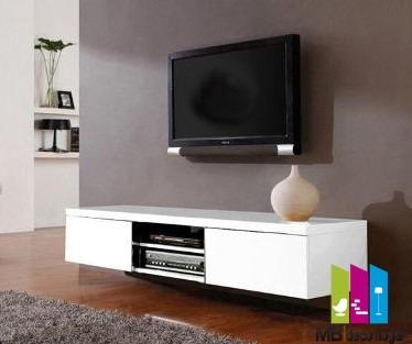 mueble tv moderno. ¡armado! mod 32