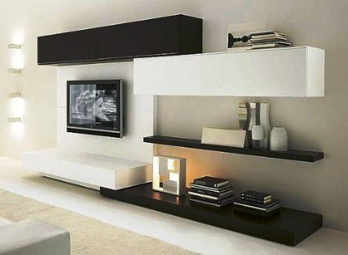 Mueble tv moderno torino a bs en for Mueble para lcd 50 pulgadas