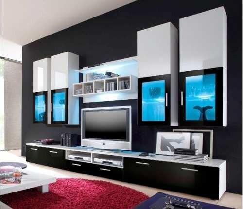 mueble ,tv  modular rack vajillero moderno