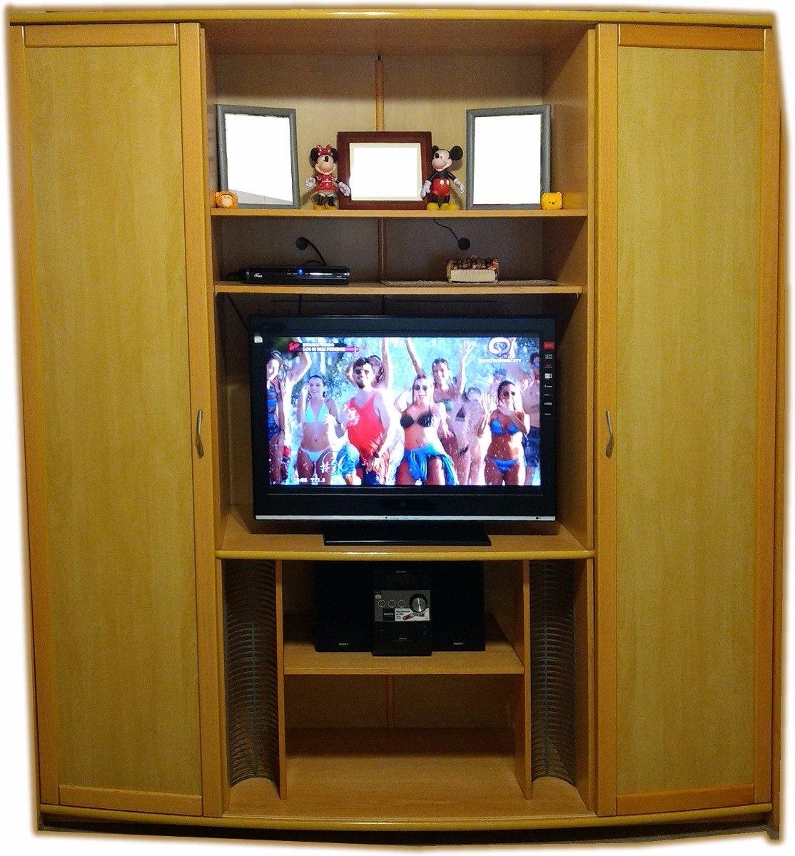 Mueble Tv Ordenador Vajillero Puertas Comedor Madera Haya - $ 9.000 ...