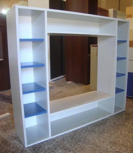 Muebles tv dise o mueble tv diseo nogal y negro mate - Diseno de muebles de tv ...
