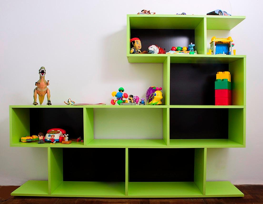 Mueble Tv Rack Lcd Biblioteca Living Zeta Muebles 4 100 00 En  # Muebles Rack Para Living