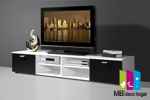 mueble tv smart led. ¡armado! mod 1