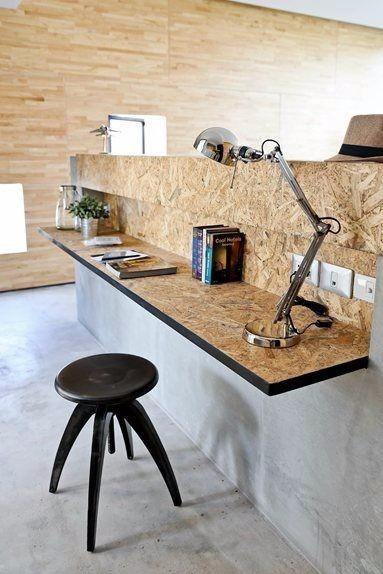 Mueble tv tablero osb mesa madera hierro cajones mueble en mercado libre - Precio tablero osb ...