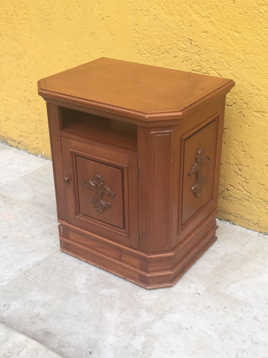 Mueble tv vintage en madera 1 en mercado libre for Mueble tv vintage