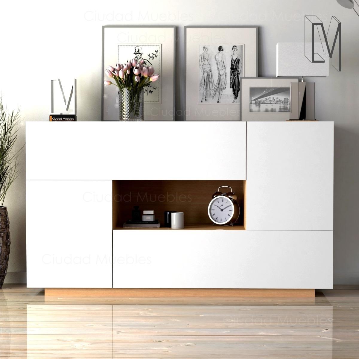 Mueble Vajillero Moderno Comedor 140cm De Largo. Oferta!!!