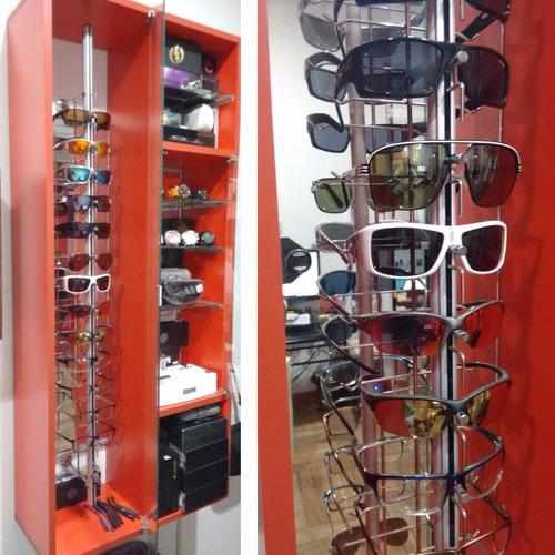 mueble vitrina organizador relojes & lentes melamina 18mm