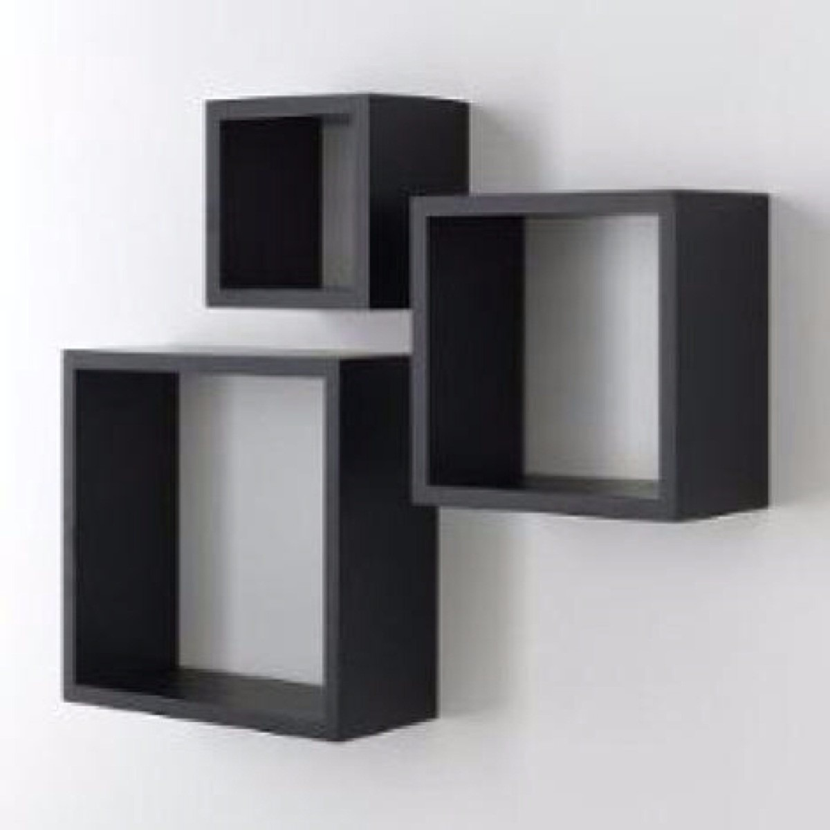 Mueble y decoracion repisa cubos flotante minimalista 20cm for Mueble de 5 repisas
