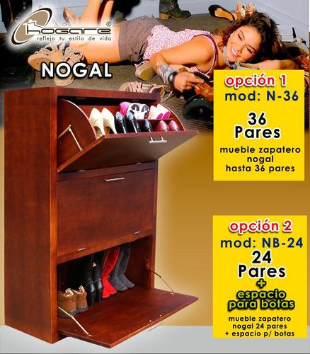 mueble zapatero de madera para 36 pares sp0