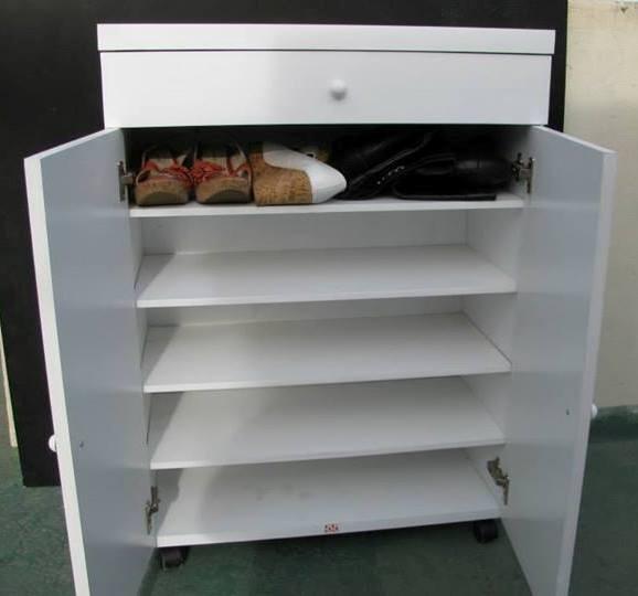 Hacer mueble zapatero relacionado mueble recibidor comoda zapatero banco botinero zapatero m - Como hacer un organizador de zapatos casero ...