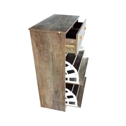 mueble zapatero rustico con cajon, mueble, decoracion