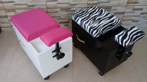 mueble,burro,silla para pedicure