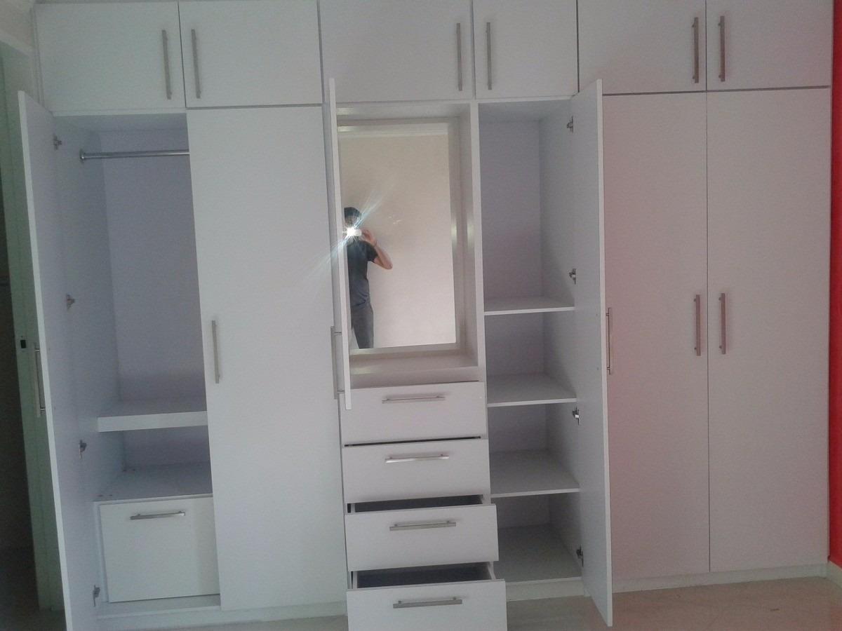 Muebles a medida carpintero interiores placard a for Closets modernos para parejas