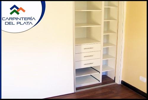 muebles a medida, melamínicos: placares, cocinas, escritorio