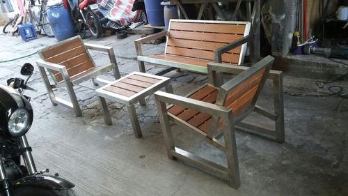 muebles acero inoxidable fabricante
